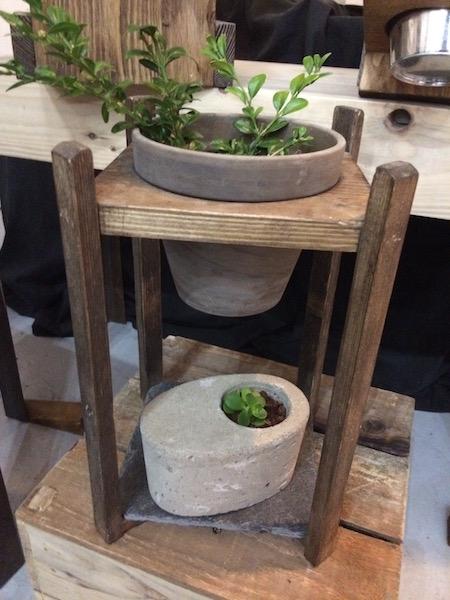 Slate Plant Pot Stand